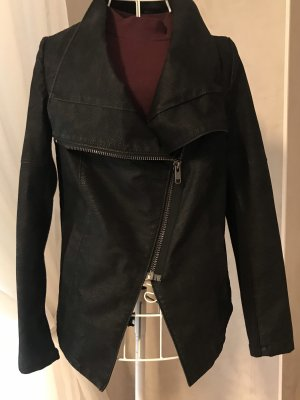 H&M Divided Biker Jacket black