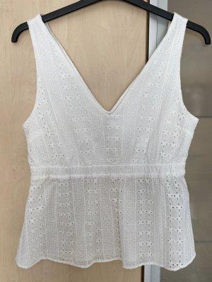 Vila Crochet Top white