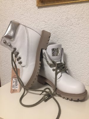 Scarpa stringata bianco