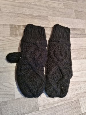 Vila Knitted Gloves black