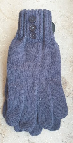 Knitted Gloves grey