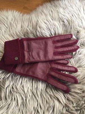 Esprit Gloves bordeaux
