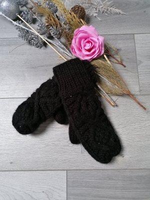 Vila Clothes Gants en tricot noir