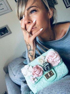 ⋙•-•-•-•➤ Damen Handtasche handmade -  Neu m. Etikett ◉