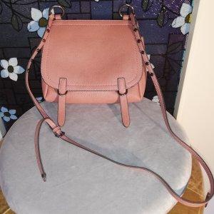 Damen-Handtasche * JustFab * hellbraun * NEUWERTIG * 22x22x8 * Kunstleder