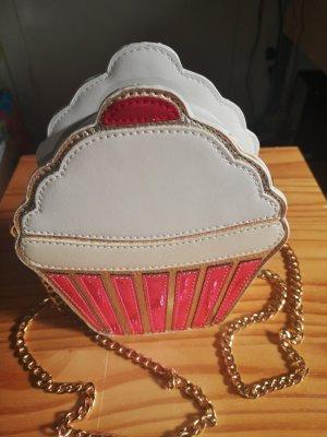 Mini Bag white-pink leather