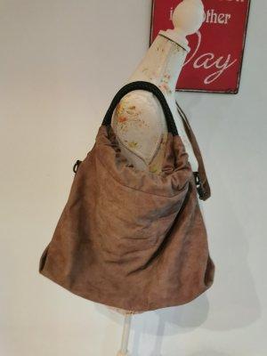 Damen Handtasche Shopper Umhängetasche braun Onesize