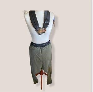 Rundholz dip Harem Pants olive green-black brown