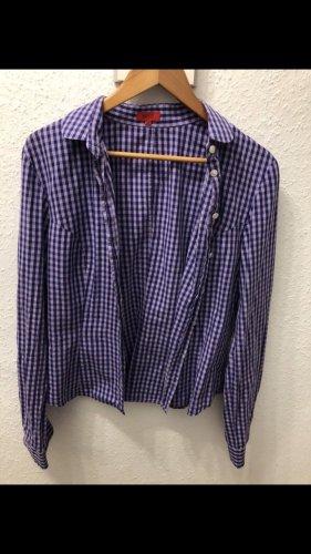 Hugo Boss Camicia a maniche lunghe lilla-viola