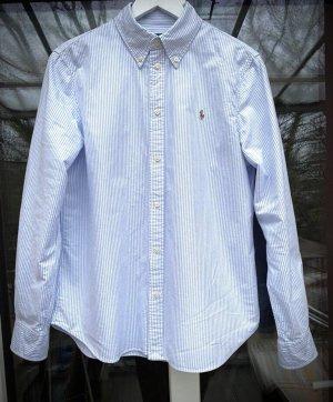Damen Hemd Blau-Weiß gestreift_Polo RalphLauren