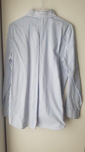 Mango Koszulowa bluzka biały Bawełna