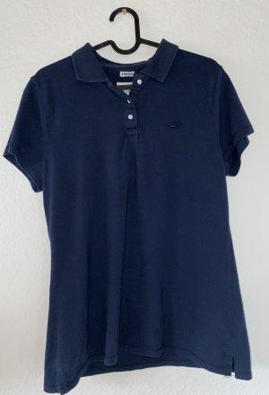 Holister Chemise à manches courtes bleu foncé-bleu