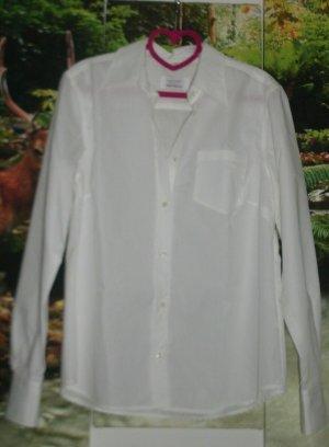 Damen Hemd , Farbe : Weiß , Gr : 42 , Marke : Milano Donna