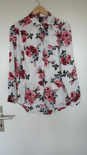 Colloseum Camicia blusa bianco-rosa