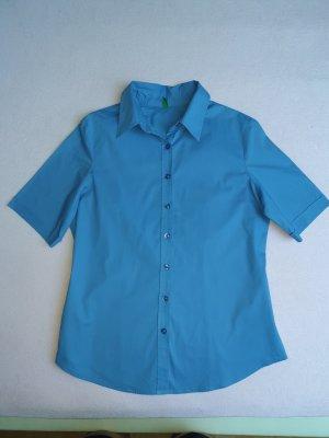 """Damen Hemd Hemdbluse in """"Saftig"""" Blau"""
