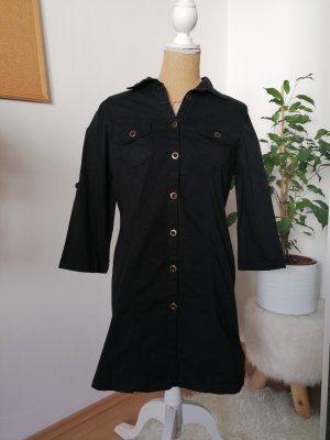 Boysen's Lange blouse zwart-goud