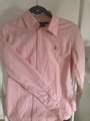 Polo Ralph Lauren Koszula z długim rękawem jasny różowy Bawełna