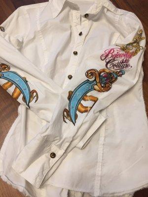 Camicia a maniche lunghe multicolore Cotone