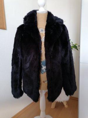 C&A Yessica Kurtka ze sztucznym futrem ciemnoniebieski