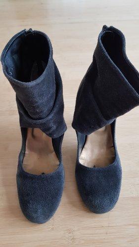 Damen High Heels Nappa-Leder schwarz Gr.41