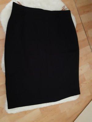 Coralblue Falda de talle alto negro