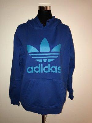 Adidas Hooded Sweatshirt blue-neon blue
