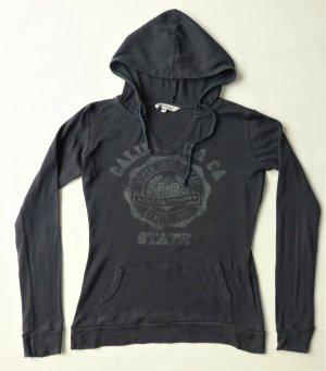 C&A Clockhouse Bluza z kapturem antracyt Tkanina z mieszanych włókien