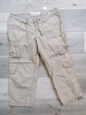 H&M Pantalon 3/4 beige clair