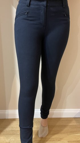 Jones Pantalone a vita alta blu scuro