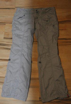 Esprit Cargo Pants grey mixture fibre