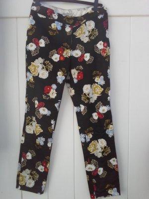 H&M Spodnie biodrówki Wielokolorowy