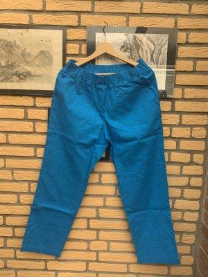 bpc Pantalon boyfriend bleu