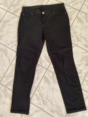 Hallhuber Drainpipe Trousers black