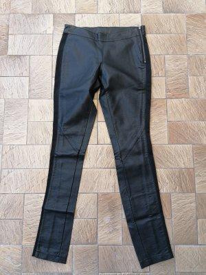 SH Collection Skórzane spodnie czarny