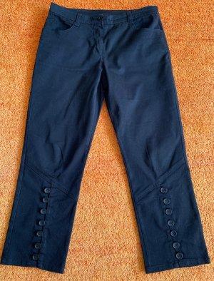 Damen Hose Jeans 7/8 Stretch Gr.38 in Schwarz von b.p.c.
