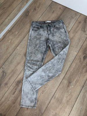 Damen Hose Jeans grau