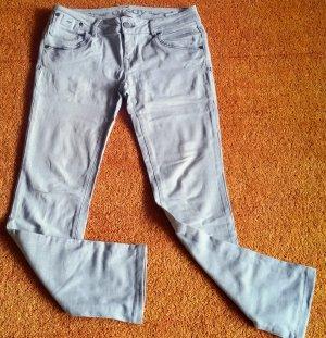Orsay Jeans stretch gris clair coton