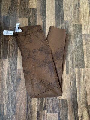 Calzedonia Pantalon taille haute bronze-brun