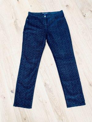 Club of Comfort Five-Pocket Trousers black cotton