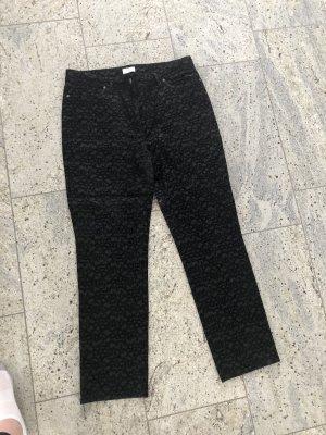ae elegance Woolen Trousers black