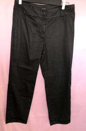 Creation L. 3/4 Length Trousers black cotton