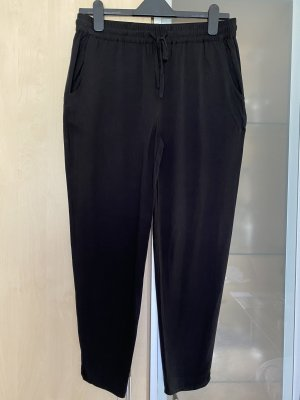 Even & Odd Pantalon large noir