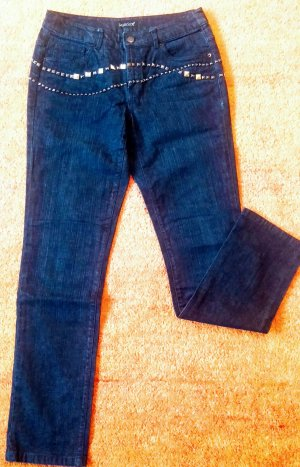 Damen Hose Stretch Jeans Gr.S in Blau von Laura Scott NW