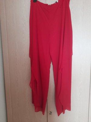 Apart Pantalone jersey rosso mattone Poliestere