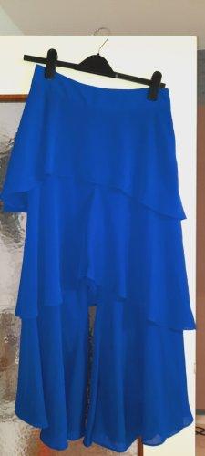 River Island Falda pantalón azul Poliéster