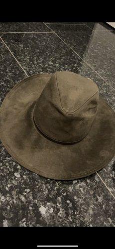 Zara Vilten hoed khaki