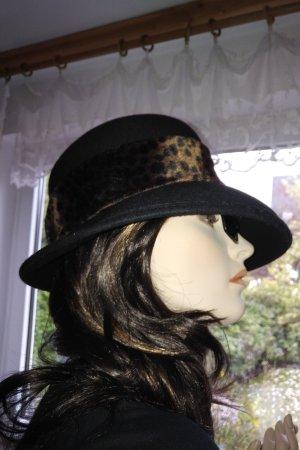 Vintage Woolen Hat multicolored wool