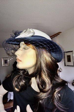Unbekannte Marke Sun Hat natural white-dark blue