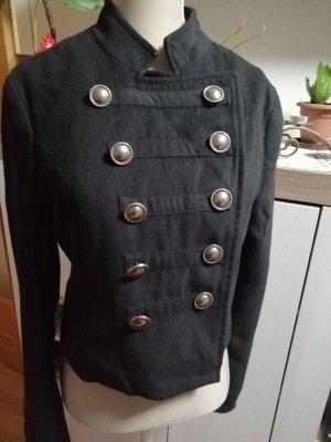 Amisu Military Jacket black