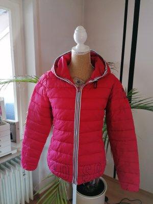 Soccx Softshell Jacket black-red